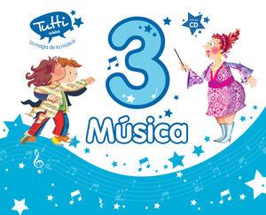 MÚSICA 3º PRIMARIA (INCLUYE CD)