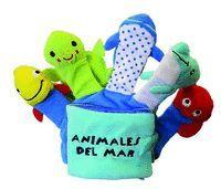 ANIMALES DEL MAR. LIBRO GUANTE