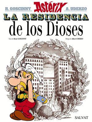 LA RESIDENCIA DE LOS DIOSES. ASTÉRIX