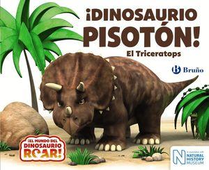 DINOSAURIO PISOTÓN! EL TRICERATOPS