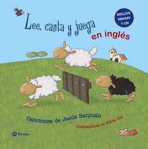 LEE, CANTA Y JUEGA EN INGLÉS + CD