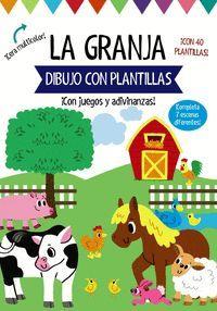 LA GRANJA. DIBUJO CON PLANTILLAS