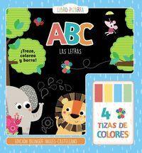 ABC. LAS LETRAS - LIBRO-PIZARRA