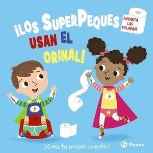 LOS SUPERPEQUES USAN EL ORINAL!