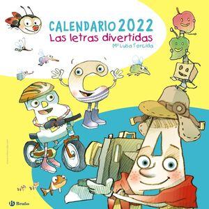CALENDARIO 2022 LAS LETRAS DIVERTIDAS