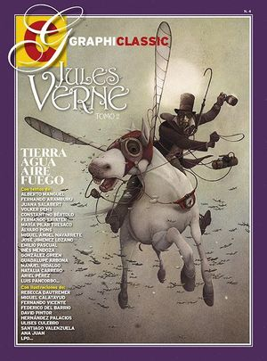 JULES VERNE T.2: TIERRA, AGUA, AIRE, FUEGO.