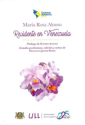 RESIDENTE EN VENEZUELA