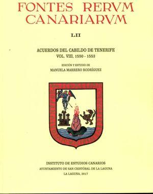 ACUERDOS DEL CABILDO DE TENERIFE (1550-1553)