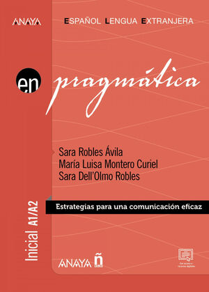PRAGMÁTICA INICIAL A1/A2. ESPAÑOL LENGUA EXTRANJERA