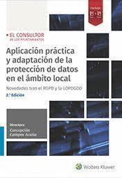 APLICACION PRACTICA Y ADAPTACIÓN DE LA PROTECCIÓN DE DATOS EN EL ÁMBITO LOCAL