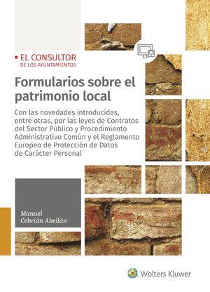 FORMULARIOS SOBRE EL PATRIMONIO LOCAL