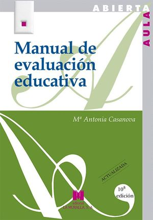 MANUAL DE EVALUACION EDUCATIVA