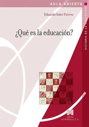 QUE ES LA EDUCACION?