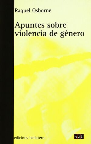 APUNTES SOBRE VIOLENCIA DE GÉNERO
