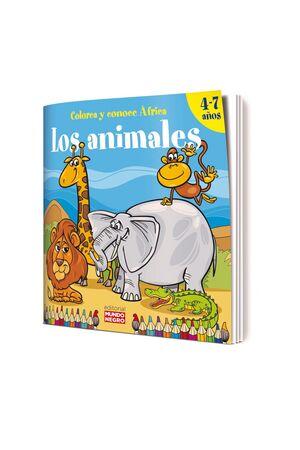 LOS ANIMALES. COLOREA Y CONOCE ÁFRICA
