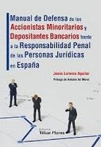 MANUAL DE DEFENSA DE LOS ACCIONISTAS MINORITARIOS Y DEPOSITANTES BANCARIOS