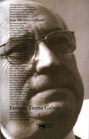 ENRIQUE TIERNO GALVAN Y SU EQUIPO