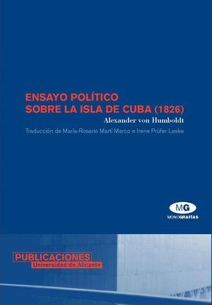 ENSAYO POLITICO SOBRE LA ISLA DE CUBA (1826)