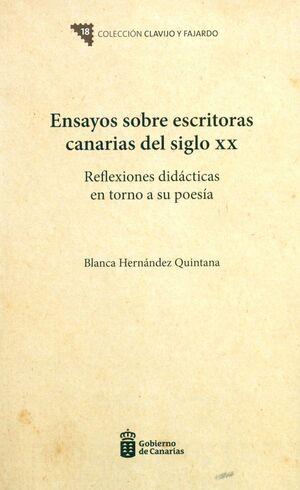 ENSAYOS SOBRE ESCRITORAS CANARIAS DEL SIGLO XX