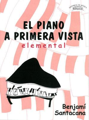 EL PIANO A PRIMERA VISTA