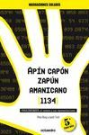 APIN CAPON ZAPUN AMANICANO (1134) PARA ENTENDER EL NUMERO Y SUS R