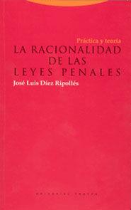 RACIONALIDAD DE LAS LEYES PENALES