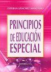 PRINCIPIOS DE EDUCACION ESPECIAL