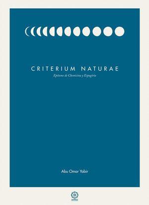 CRITERIUM NATURAE
