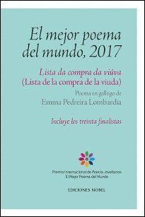 EL MEJOR POEMA DEL MUNDO, 2017. LISTA DE LA COMPRA DE LA VIUDA