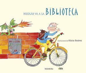 NICOLÁS VA A LA BIBLIOTECA (BATA) (PICTOGRAMAS)