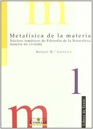 METAFISICA DE LA MATERIA