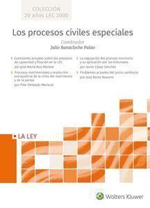 LOS PROCESOS CIVILES ESPECIALES ( 4 VOL.)