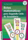 RETOS MATEMATICOS PARA SEGUNDO CICLO DE SECUNDARIA