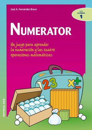 NUMERATOR. UN JUEGO PARA APRENDER LA NUMERACION Y LAS CUATRO OPERACIONES MATEMÁTICAS
