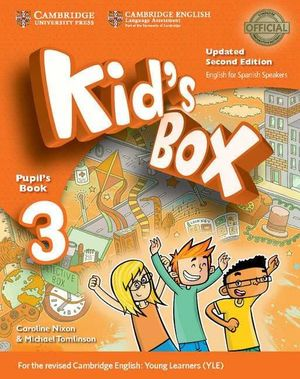 KID'S BOX LEVEL 3º PRIMARIA PUPIL'S BOOK UPDATED ENGLISH FOR SPANISH SPEAKERS 2ND EDITION