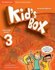 KID´S BOX 3 FOR SPANISH SPEAKERS. ACTIVITY  BOOK . 2ED. 2014  **CAMB