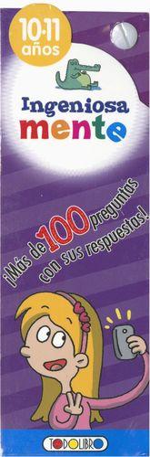 INGENIOSAMENTE ( 10-11 AÑOS )