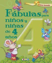 FABULAS PARA NIÑOS Y NIÑAS DE 4 AÑOS