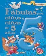 FABULAS PARA NIÑOS Y NIÑAS DE 5 AÑOS