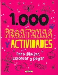1000 PEGATINAS Y ACTIVIDADES ( ROSA )