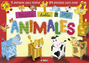 ANIMALES. RECORTA, DOBLA Y PEGA