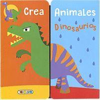 CREA ANIMALES. DINOSAURIOS