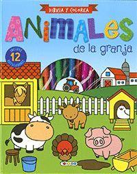 ANIMALES DE LA GRANJA ( DIBUJA Y COLOREA )