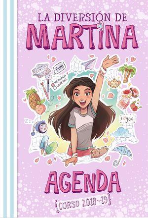AGENDA DE LA DIVERSIÓN DE MARTINA CURSO 2018-2019