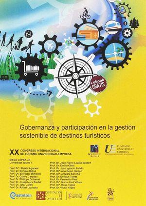 GOBERNANZA Y PARTICIPACION EN LA GESTION SOSTENIBLE DE DESTINOS TURÍSTICOS