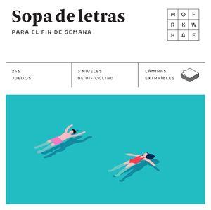 SOPA DE LETRAS PARA EL FIN DE SEMANA