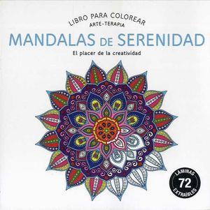 Libro Para Colorear Mandalas De Serenidad Librería Canaima