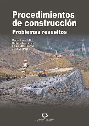 PROCEDIMIENTOS DE CONSTRUCCION. PROBLEMAS RESUELTOS