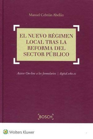 EL NUEVO REGIMEN LOCAL TRAS LA REFORMA DEL SECTOR PUBLICO