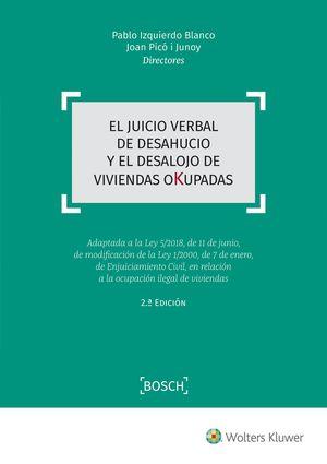 EL JUICIO VERBAL DE DESAHUCIO Y EL DESALOJO DE VIVIENDAS OKUPADAS
